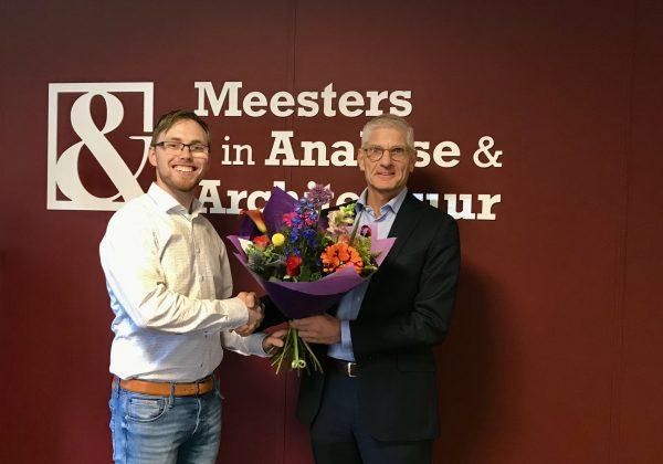 Nieuwe collega: Gert van Weelden