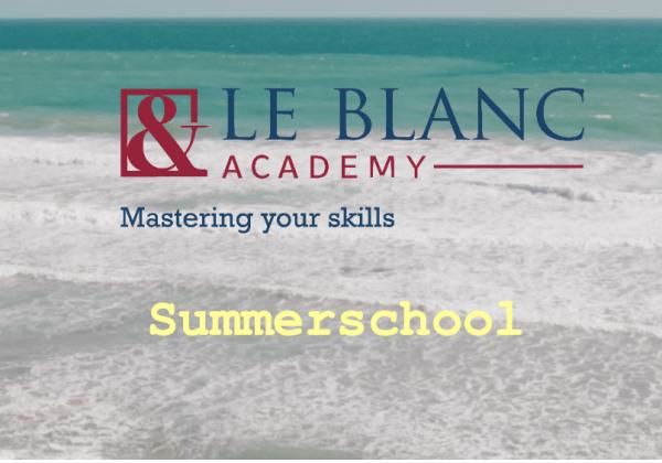 Summerschool – Le Blanc Academy
