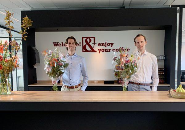 Twee nieuwe collega's: Caspar Wieten en Sjoerd Huls
